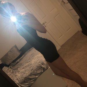 sexy & strapless little black dress